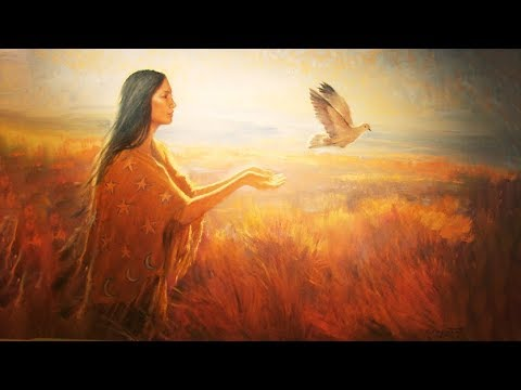 Shaman Music for healing female energy - Increase Feminine Energy Around Men