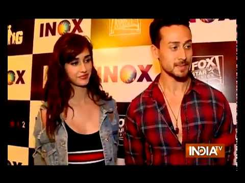 Exclusive Interview with Tiger Shroff And Disha Patani on 'Baaghi 2'