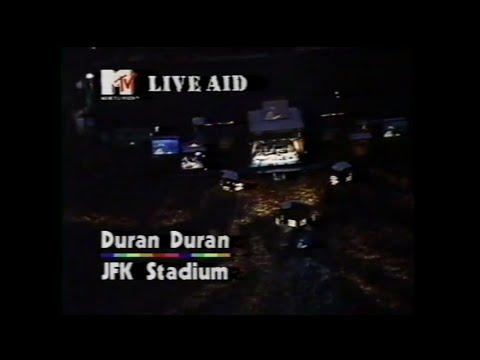 Duran Duran - A View To A Kill (MTV - Live Aid 7/13/1985)