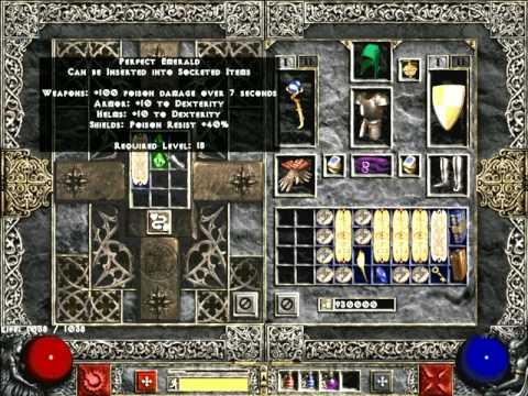 Diablo 2 – Re-rolling Skill Charms