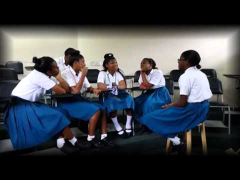 Manzanilla Secondary School Young Leaders We Think Interwise