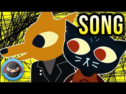 "NIGHT IN THE WOODS SONG ""CRIMES"" TryHardNinja and Bonecage"