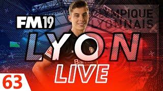 Football Manager 2019  Lyon Live 63 Summer Transfer Window Madness FM19