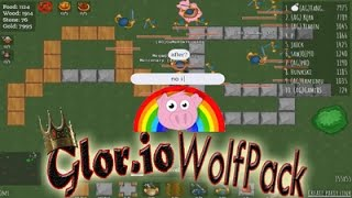 Glor.io Black Wolf Army ! Biggest Bases And Team In Glor.io New Game Black Wolf Glitch !