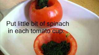 Eggs Baked In Tomatoes.wmv