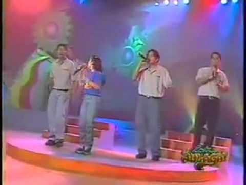 """""""At The Beginning"""" by wiseguys with antoinette taus in eat bulaga 1997.flv"""