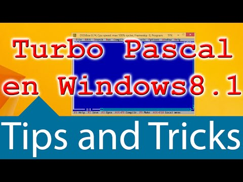 Descargar e instalar Turbo Pascal (DOSBox) (Mega) - YouTube