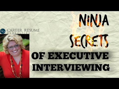 Executive Job Interviewing Tips: Keeping Control in Job Interview Conversation