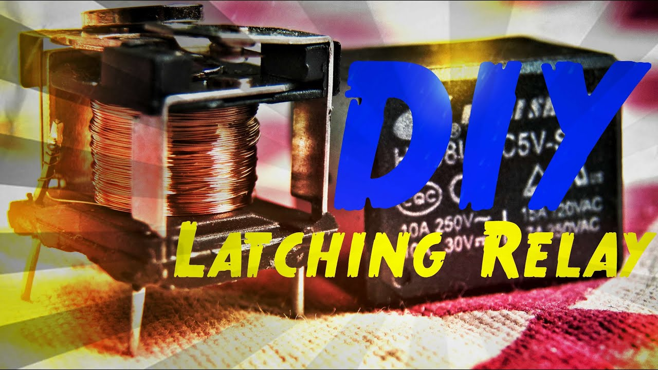 Diy Make Latching Relay From Any Mechanical Youtube 12 Volt Toggle