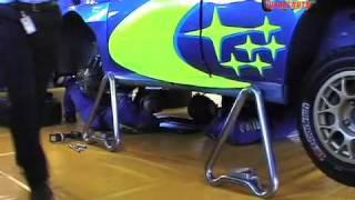 Subaru WRC Gearbox Change