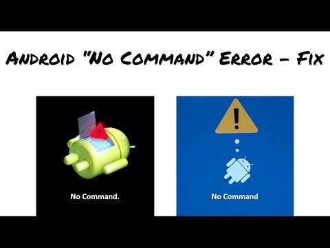 NO COMMAND Error On Android Mobile - Fixed