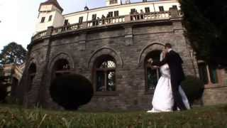 Свадьба в замке в Чехии