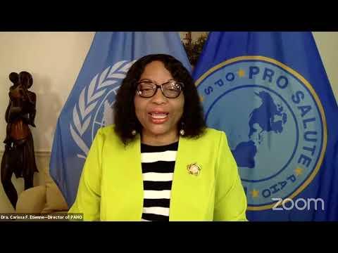 Sesión informativa de la OPS sobre COVID-19/PAHO's press briefing on COVID-19 - ORIGINAL AUDIO