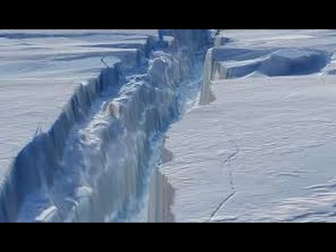 Drone Footage: Shockingly Huge Crack Discovered in Antarctica Ice Shelf