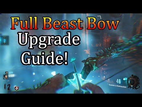 Der Eisendrache Complete Wolf/Beast Bow Upgrade Guide!