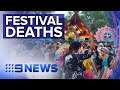 Gambar cover Two people found dead in tent at Queensland festival | Nine News Australia