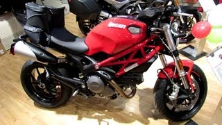 2013 Ducati Monster 796 ABS Walkaround - 2013 F1 Weekend - Ducati Montreal - Little Italy