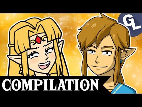 Zelda and Crossover Comic Dub Compilation 2  GabaLeth