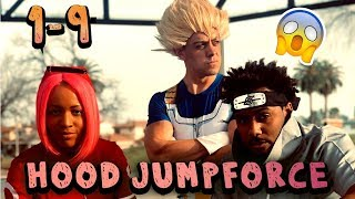Gambar cover Naruto vs Goku ( Jumpforce ALL Parts 1-9 ) Hood Anime