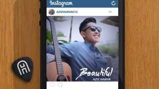 Video Aziz Harun - Beautiful (Official Lyric Video) download MP3, 3GP, MP4, WEBM, AVI, FLV Desember 2017
