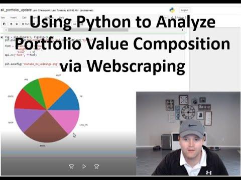 Using Python to Analyze Stock Portfolio Composition