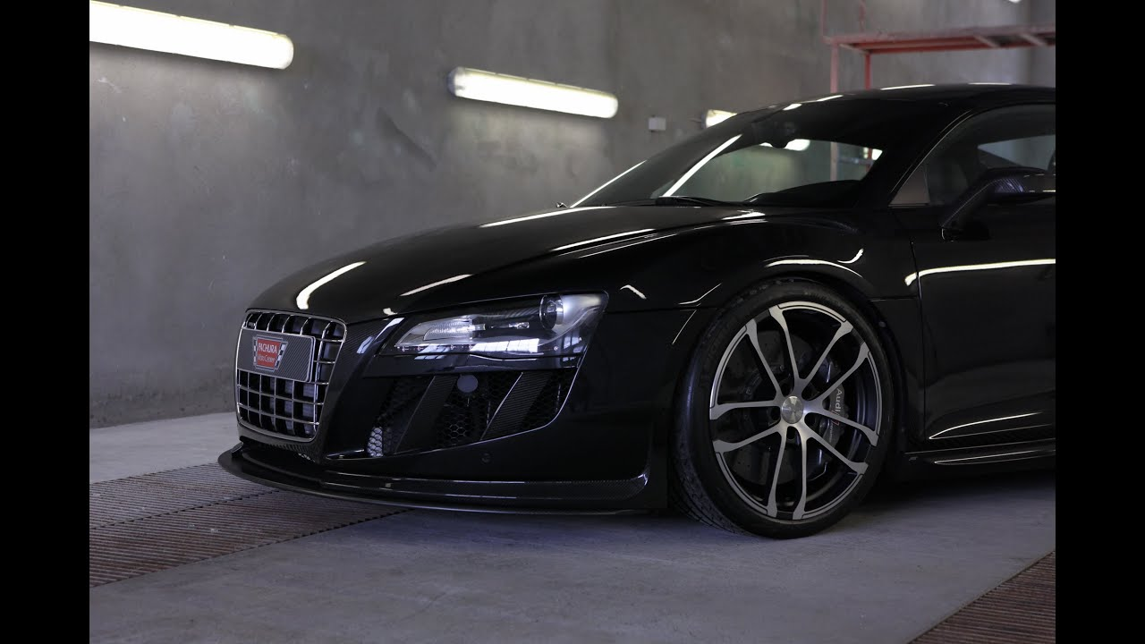 AUDI R8 V8 GTR TWIN SUPERCHARGED TUNED BY PACHURA MOTO CENTER - YouTube