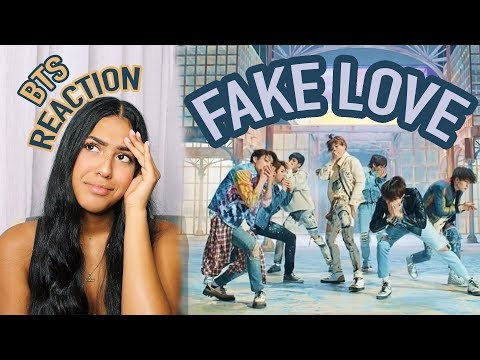 BTS - FAKE LOVE *REACTION*