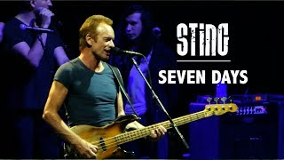 Download Sting - Seven Days (Singapore, 28 May 2017) MP3 song and Music Video