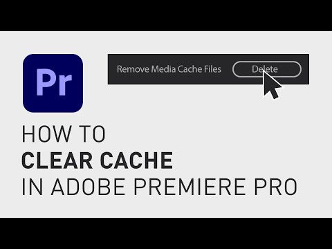 How to clear cache in Premiere Pro
