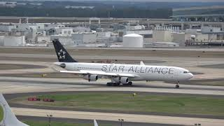4K | Lufthansa City Line | Star Alliance | Airbus A340 | Atlanta Hartsfield-Jackson