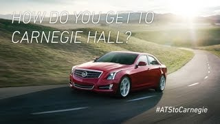 #ATStoCarnegie / How do you get to Carnegie Hall?