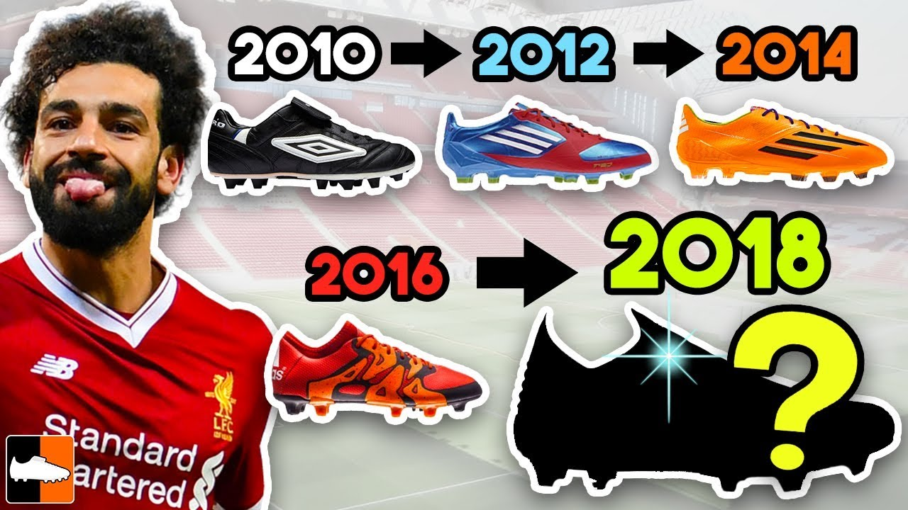 Salah's New Boots & EVERY Cleat He Has Worn Ever!!