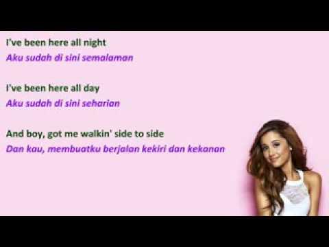 Lirik lagu Ariana Grande side to side dan terjemahnya