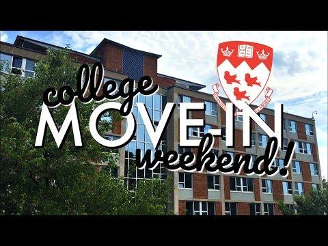 MOVING INTO MY DORM (McGill University)