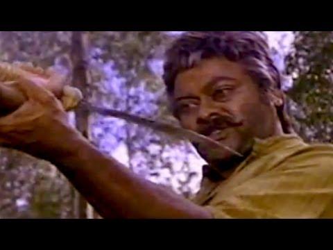 Sneham Kosam Movie|| Chiranjeevi  Stunning Action Scene || Chiranjeevi,Meena