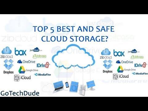 Top 5 Free Cloud Storage Services 2017 | Best Cloud Storage Services