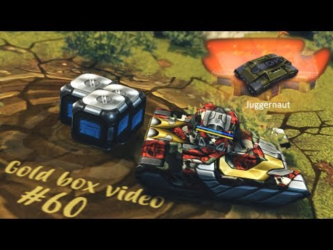 Tanki Online - Anniversary Gold Box Video #60 + Black Gold Boxes By Lyov!