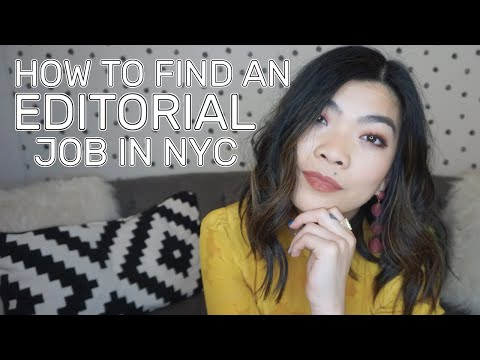 How To Find A Job In The Editorial Industry In NYC | Fashion, Beauty, & Magazines/Journalism