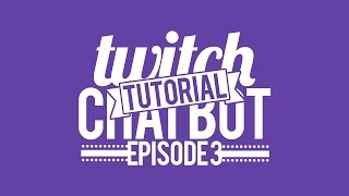 mirc tutorial how to make a twitch chat bot 3 timed announcer