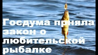 Госдума приняла закон о любительской рыбалке
