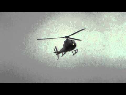 TAURANGA TRUSTPOWER TECT RESCUE AS350B2 ZK-HZM  LANDING HAMILTON