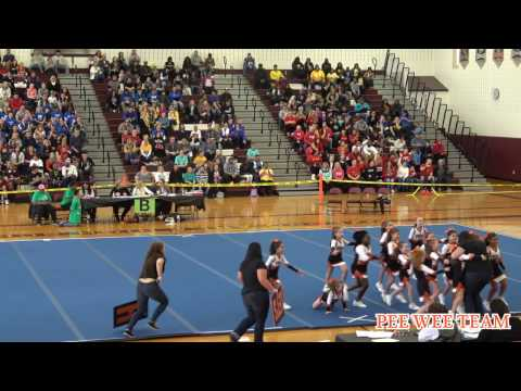 Clifton Lady Rams @ Bert Bell Cheerleading Competition 2016