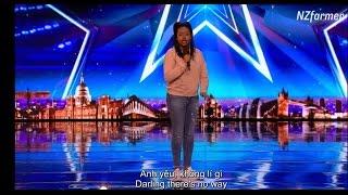(English+Vietsub) Nút vàng của Simon trong Britain's Got Talent 2017