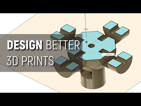 Must Have 3D Printing Tips And Tricks! Episode 1 - Design Stage