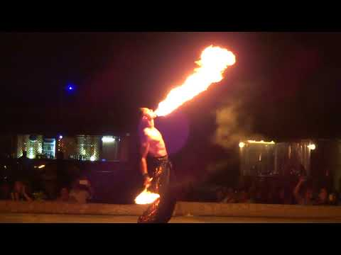 Fire Show at Labab desert camp, Dubai desert safari