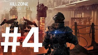Killzone Shadow Fall PS4 Walkthrough #4 - Space Walkin