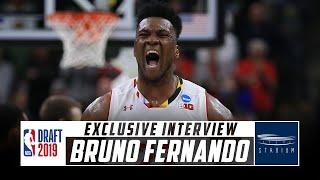 1-on-1 With NBA Draft Prospect Bruno Fernando | Stadium