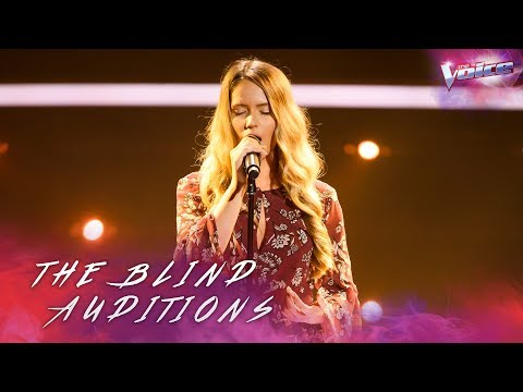 Somer Smith sings His Eye Is On The Sparrow | The Voice Australia 2018