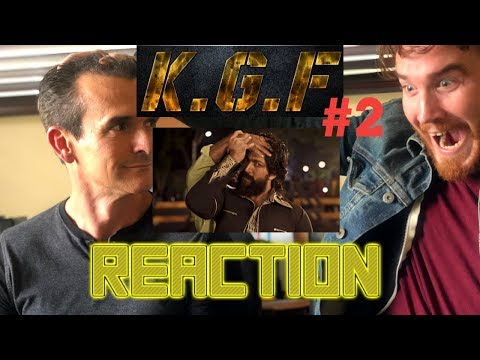 KGF | Yash | Srinidhi Shetty | Kannada | Hindi | Trailer #2 Reaction!!!