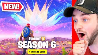 *NEW* Fortnite SEASON 6 is HERE - New Map, Skins + MORE! (Zero Crisis Live Event)